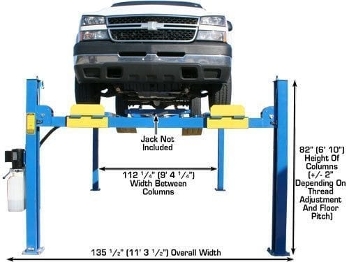 rotary lift 7000 lb manual