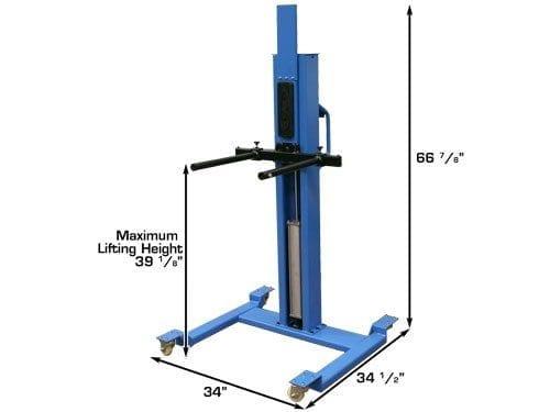 Portable Pneumatic Lift Arms : Atlas portable pneumatic wheel lift automotive