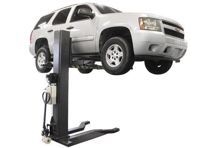 One Post Car Lift : Atlas psp  lb portable single post lift