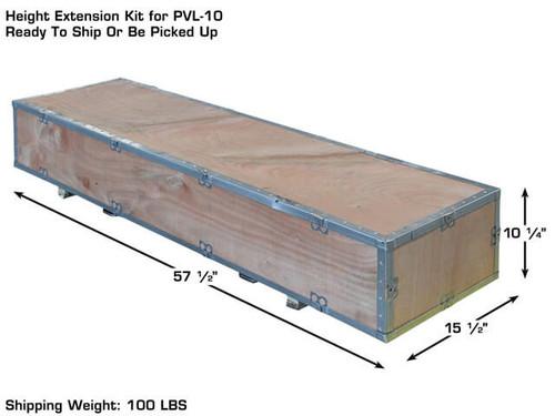 2 post lift extension kit