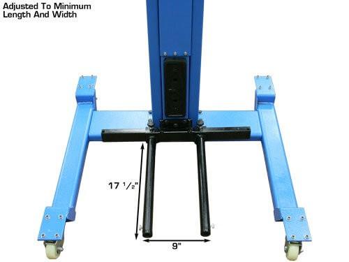 wheel lift adjustment