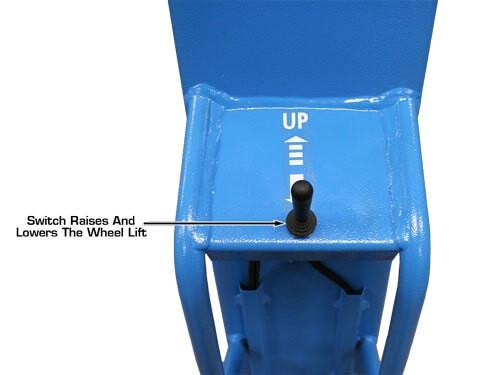 wheel lift control