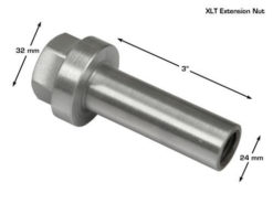 extension nut measurements