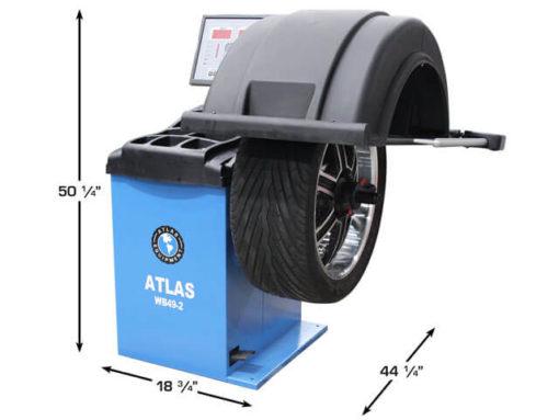 computer wheel balancer