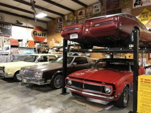 classic cars 4 post lift