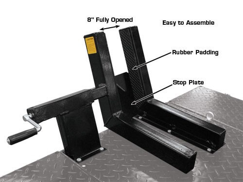 motorcycle vise dimensions
