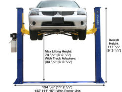 max lift height