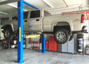 dually truck 2 post lift