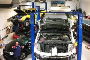 shop lift repair