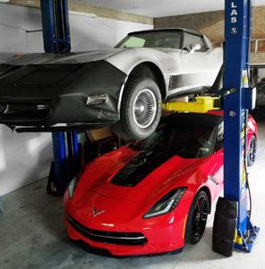 corvette 2 post lift